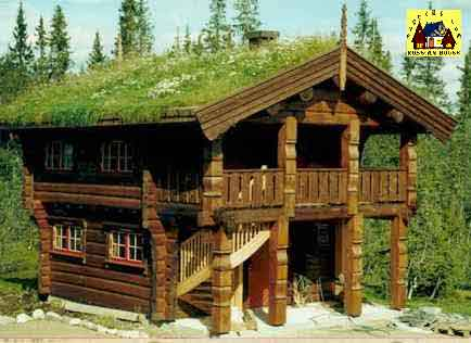 Our Log Home In Norway Log Homes Log House Log Shell