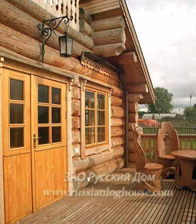 Интерьер деревянный дом в русском стиле